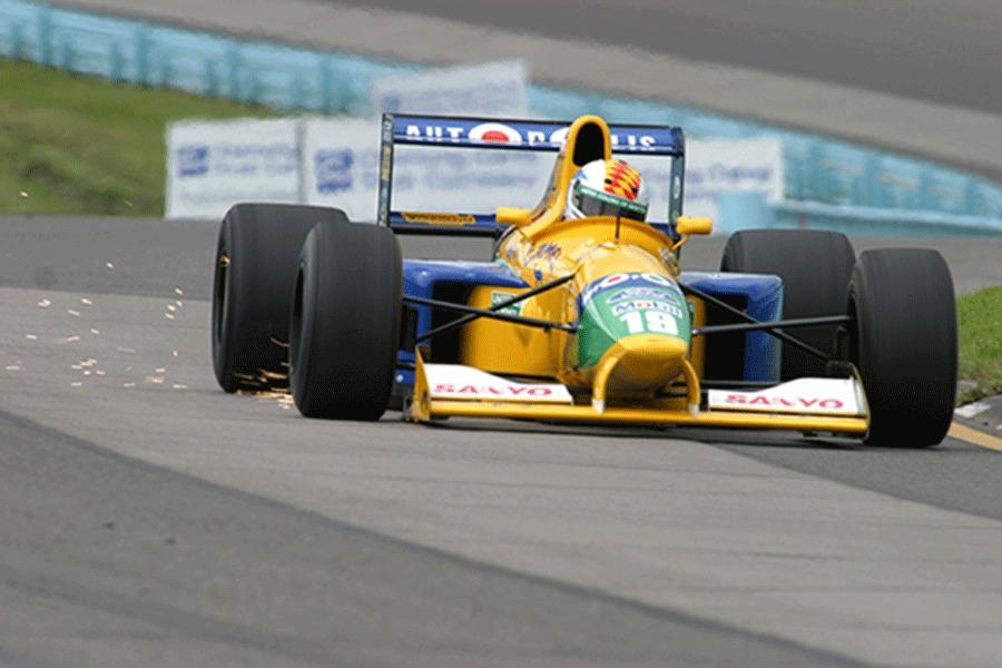 Benetton, equipe histórica da Formula 1 de 1991 - by webhome.idirect.com